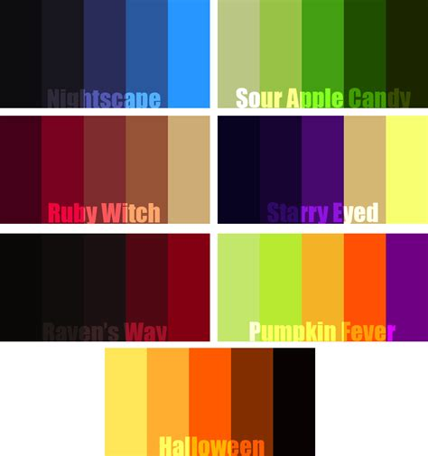 themes colour palette try out these halloween themed color palettes color