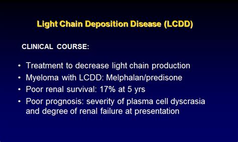 Light Chain Deposition Disease by Glomerular Diseases I Histopath At Of Health Science Center At San Antonio