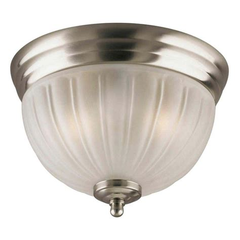 Flush Mount Ceiling Light Glass Replacement by Westinghouse 64321 2 Light Brushed Nickel Ceiling Light