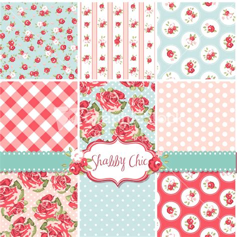 royalty free shabby chic patterns rose backgrounds graphicstock stock image