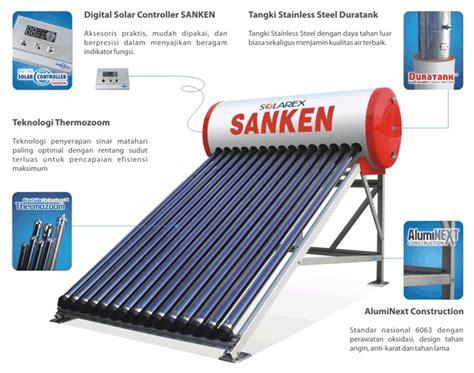 Water Heater Solar Cell Sanken solar water heater sanken solarex pr 100 tenaga
