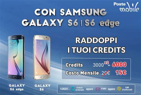Samsung S6 Promo promo postemobile samsung galaxy s6 sconto piano creami