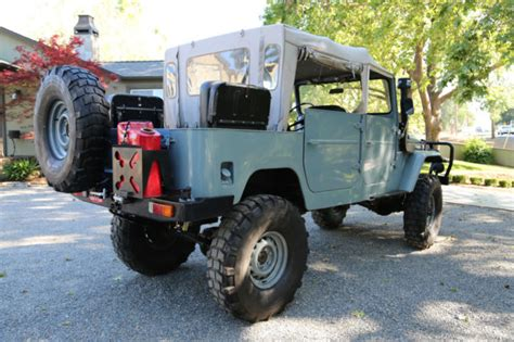 icon fj40 4 door california custom fj40 4 door landcruiser with v 8 motor