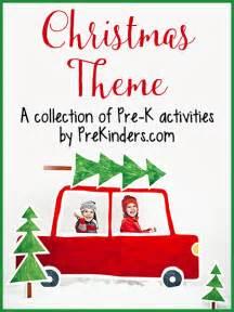 christmas theme activities for pre k prekinders