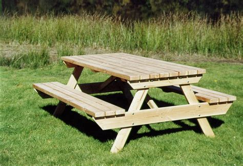 Table Banc De Jardin by Table Banc Jardin Bois Table De Lit