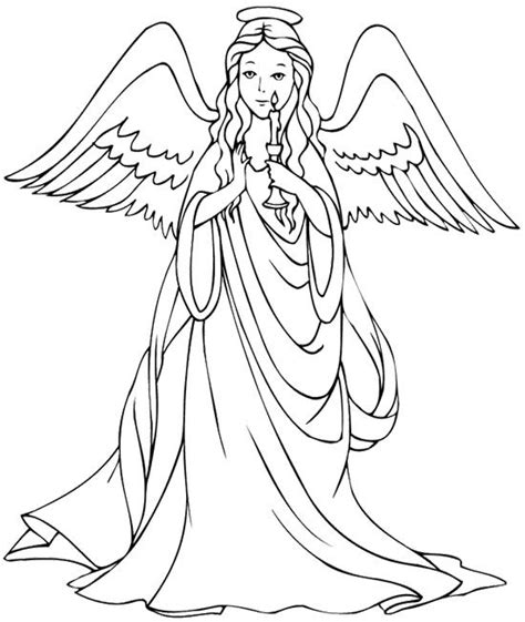 coloring page angels angel coloring pages for adults coloring pages