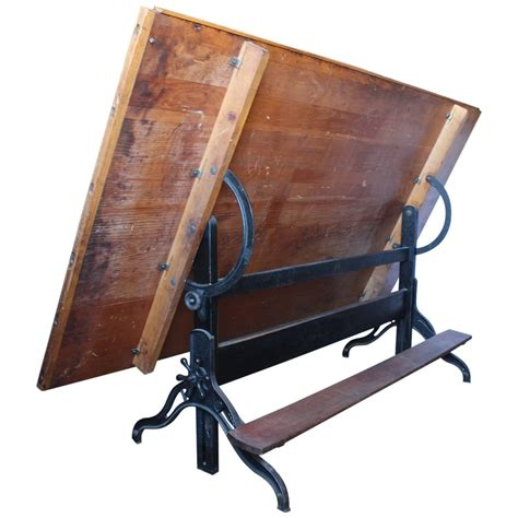Antique American Drafting Table For Sale At 1stdibs Antique Drafting Tables For Sale