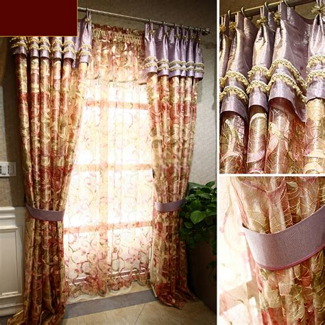 Unique Curtains Unique Curtains And Drapes Of Jacquard Patterns For Bedrooms