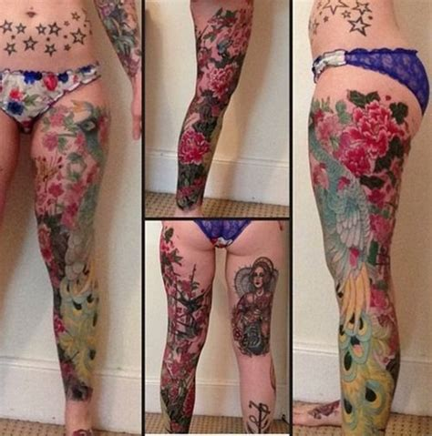 full leg tattoos designs 33 best colorful leg images on tatoos