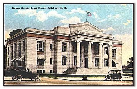 Rowan County Nc Court Records Rowan County Ncgenweb Rowan County History And Information