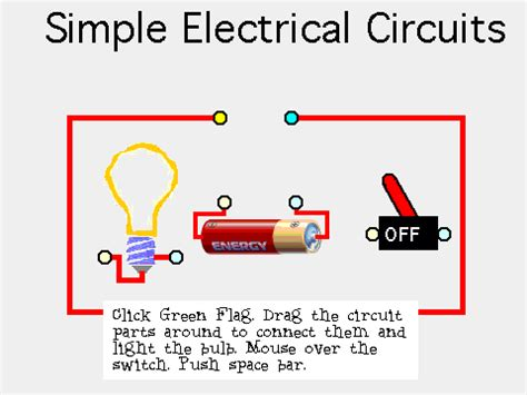what is a circuit simple circuit on scratch