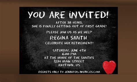 retirement party invitation templates psd ai word