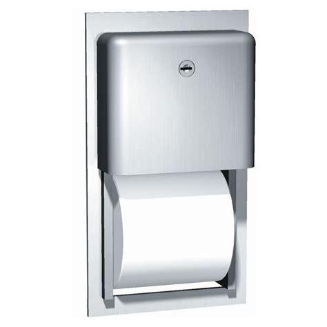 dual roll toilet tissue dispenser roll toilet paper dispenser recessed unoclean