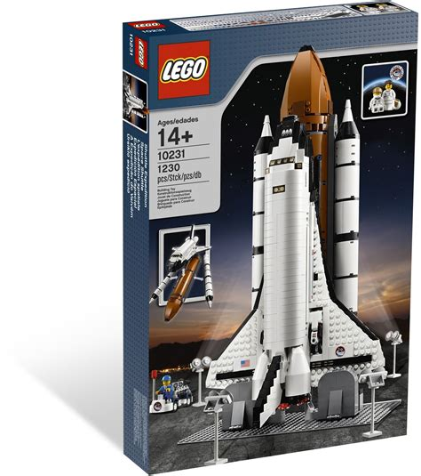 Brick Outer Space 25363 lego 10231 shuttle expedition