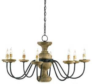Chandelier Houzz Currey Company 9766 Treesmill Chandelier Farmhouse Chandeliers By Ls