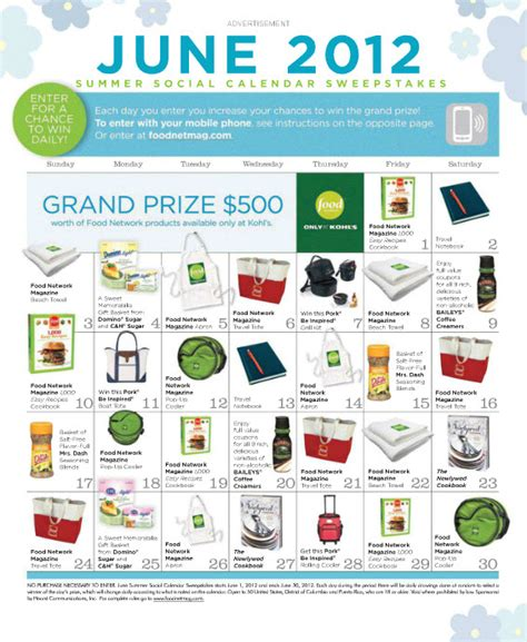 Foodnetmag Sweepstakes - pinterest mobile offering by nellymoser debuts with daily sweepstakes in june issue of