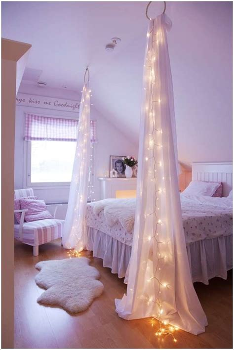 diy bedroom lighting ideas 10 amazing string lights diy decorating ideas