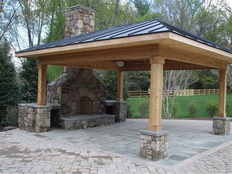 Outdoor Fireplace Patio Designs Outdoor Kitchens And Patios Chion Property Improvement