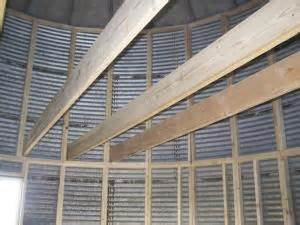 Garage Plans With Living Quarters Farm Show Grain Bin Converted To Home Fo 9 000