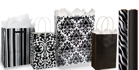 Black Gift Bags Gift Wrap  Ee  Party Ee   City