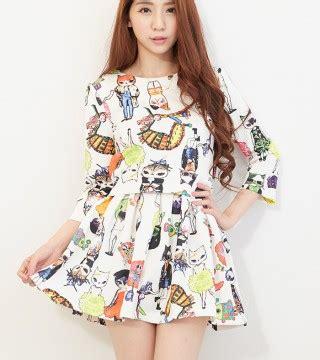 Baju Import Lucu baju dress wanita korea lucu model terbaru jual murah import kerja