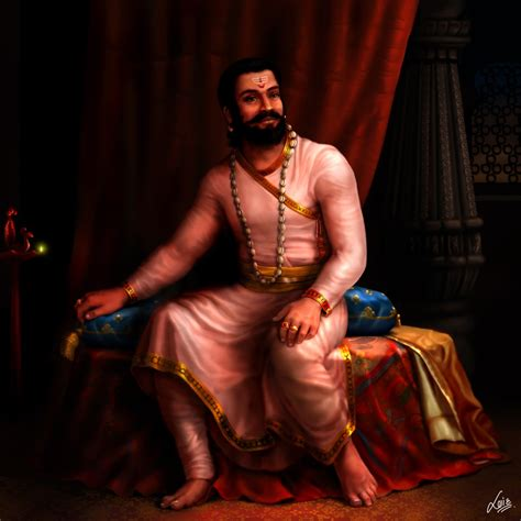 ravi art chhatrapati shivaji maharaj the thought of autonomy