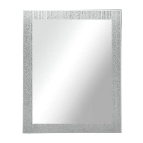 wilkinsons bathroom accessories wilko glitter mirror 40 x 50cm at wilko