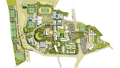 University Floor Plans by Universidad De Monterrey Master Plan Page