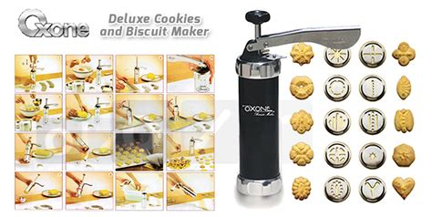 Oxone Biscuit Maker Stainless Ox 322 biscuit maker ozone ox 322 unik 99