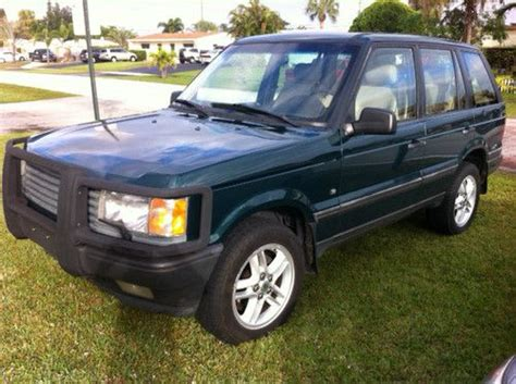 1997 range rover hse purchase used 1997 land rover range rover hse sport