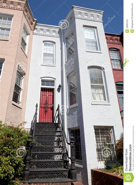 Italianate House Plans italianate style row house home washington dc usa royalty
