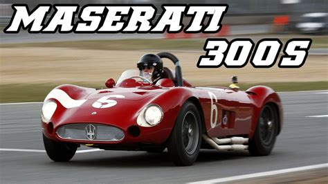 maserati 300s maserati 300s testing at zolder 2013 youtube
