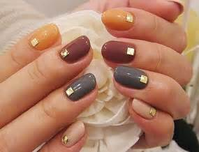 fall color nail designs 12 diy nail ideas for thanksgiving and fall brit co