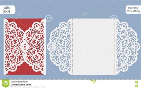 cut pro wedding templates laser cut wedding invitation template invitation card