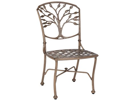 Woodard Patio Chairs Woodard Heritage Cast Aluminum Dining Side Chair 8f0412
