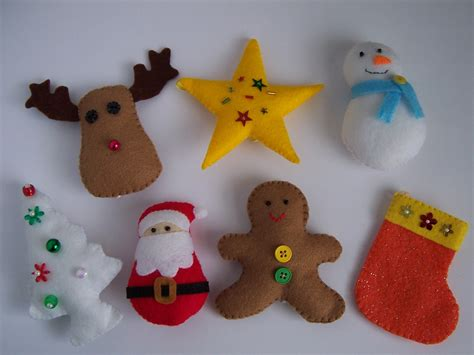 Pattern Felt Christmas Ornaments | new felt toy christmas ornaments no 15 pdf