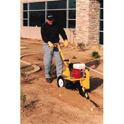 home depot trencher rental trencher 18 quot rental the home depot