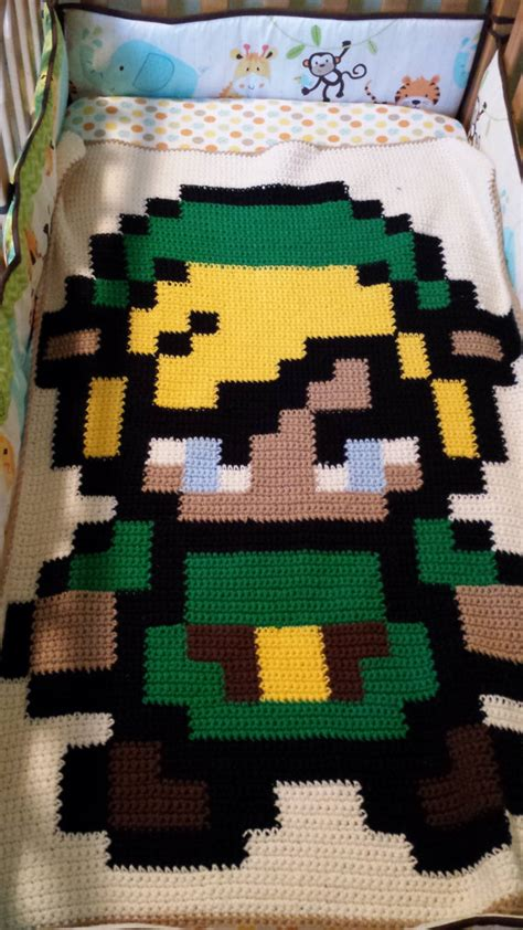 zelda afghan pattern someone from r crochet x post messaged me and said