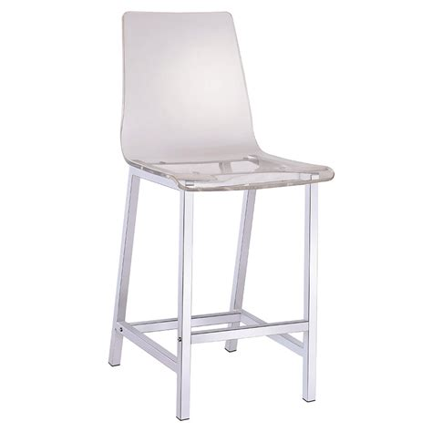 Clear Water Stool by Modern Stools Ferguson Clear Counter Stool Eurway