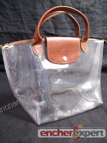 sacs transparents femme sac longch transparent prix sac transparent prada