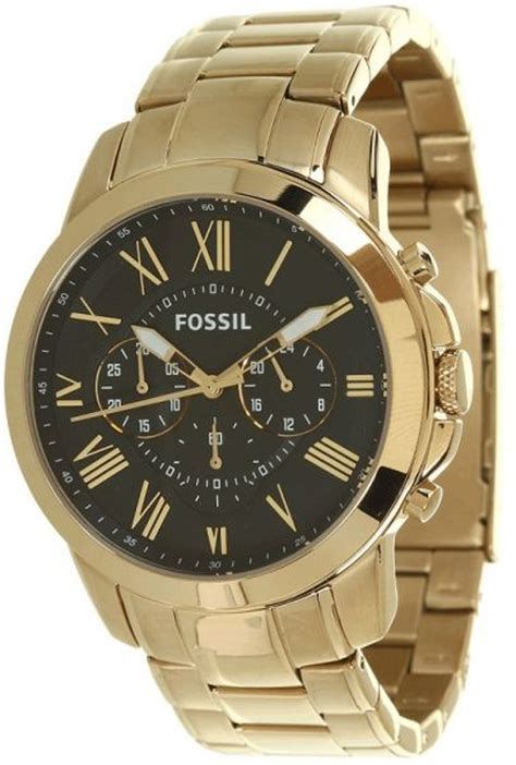 buy fossil fs4815 grant chronograph stainless steel
