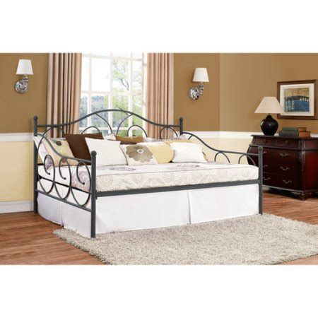 full day bed victoria full size metal daybed multiple colors walmart com