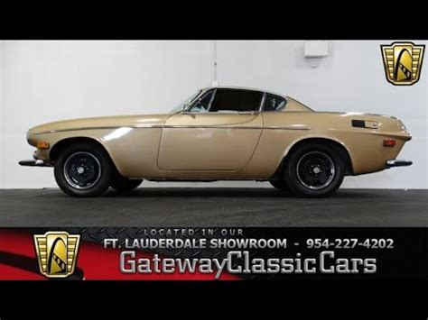 Ft Lauderdale Car Lawyer 5 by 1971 Volvo P1800 E Gateway Classic Cars Of Fort