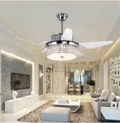 fan chandeliers achetez en gros ventilateurs de plafond lustre moderne en