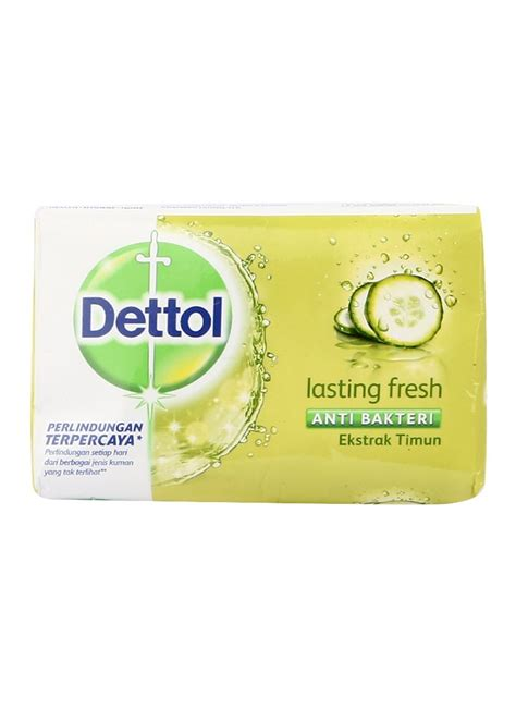 dettol sabun mandi anti bakteri lasting fresh bar 105g