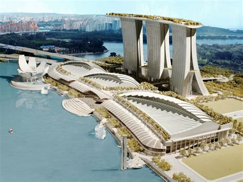 marina bay sands bays architects and singapore the architectural concept and design marina bay sands