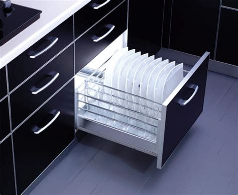 Inside Kitchen Cabinet Ideas by Optimise Kitchen Storage With The Right Channel And Basket