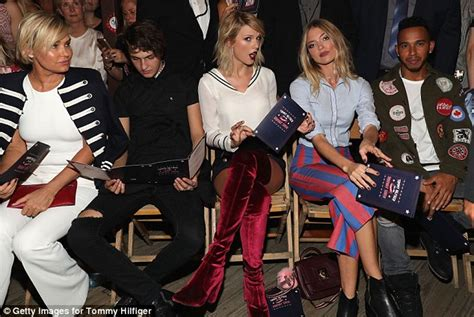 taylor swift red velvet thigh high boots newhairstylesformen2014 com taylor swift stuns in thigh high red boots and shorts as