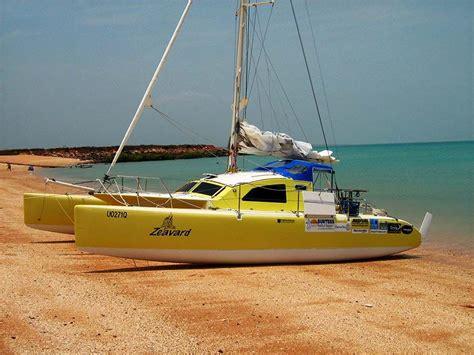 trimaran sailboat surtees multihull designs trailerable multihulls