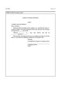 Landlord Sle Letters by Rent Increase Letter Template Best Business Template